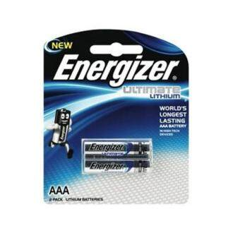 Harga Energizer Ultimate 2AAA Pack Lithium Battery