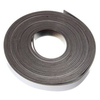 Harga S & F 12x1.5mm Flexible Rubber Self Adhesive Magnet Magnetic Tape Strip Craft 5m/2m/1m