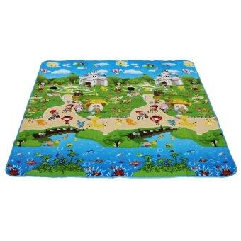 Harga Vessini Series Baby Kid Toddler Play Crawl Mat Carpet Playmat Foam Blanket Rug for In/Out Doors C