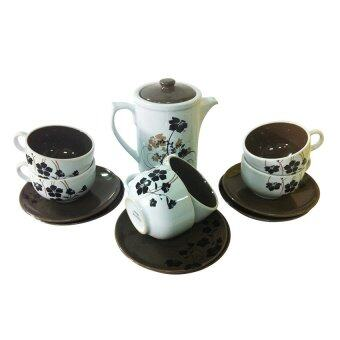 Harga 14pcs tea set- Titanic Ivy