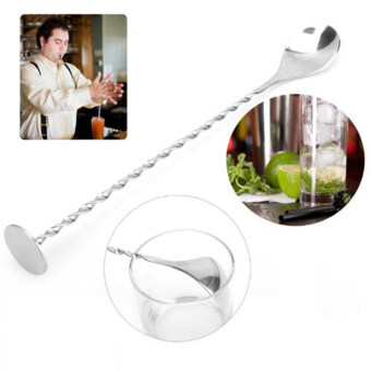 Harga Stainless Steel Bar Spoon With Masher Ideal For Mixing Cocktails