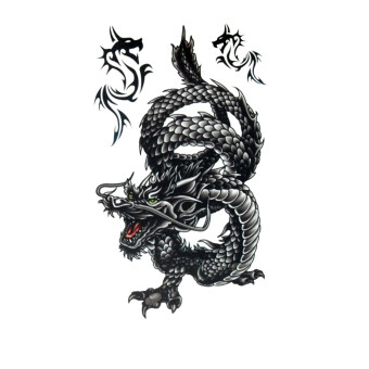 Harga Jetting Buy Unisex Dragon Temporary Tattoo