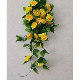 Harga Garland Home Wall Party Decor Wedding Garden Decoration Bouquet House Decor 240cm Yellow