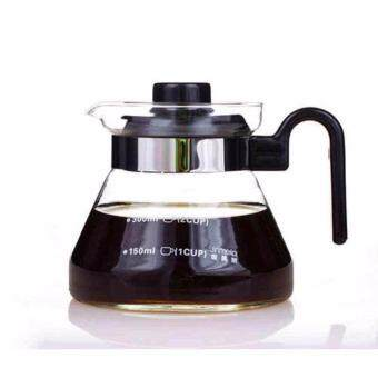 Harga Heat Resistant Glass Teapot Coffee Pot Kettle Glass Range Server