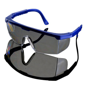 Harga New Safety Eye Protection Clear Lens Goggles Glasses From Lab Dust Paint Lab Blue