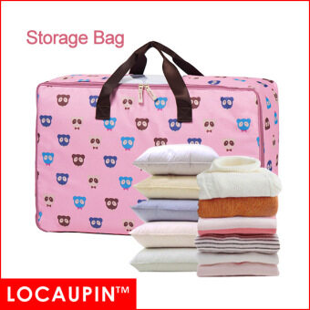Harga LOCAUPIN Storage Bag For Clothes Pillows Blanket Storage And Move Homeware Usage (Bear Type)