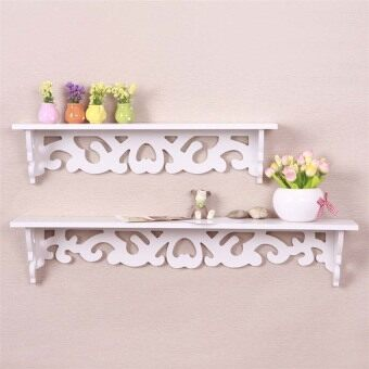 Harga Wall Shelf Rack Storage Ledge Home Decor L
