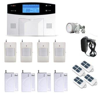 Harga GSM/PSTN Wireless Alarm System Home Alarm System
