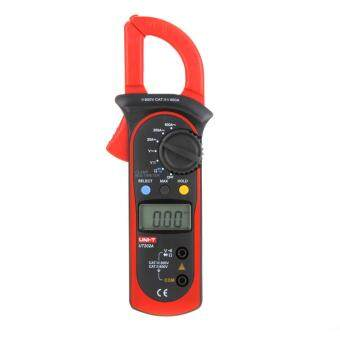Harga UNI-T UT202A Data Hold Clamp Meter 600A DC/AC Voltage AC Current Tongs Resistance Digital Clamp Meters W/ MAX & MIN Mode