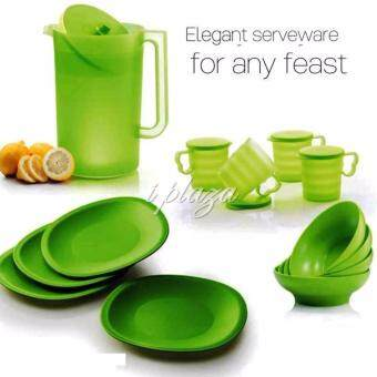 Harga Tupperware Blossom Green Set