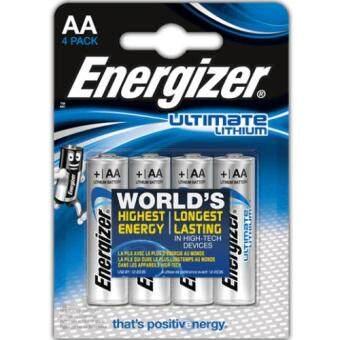 Harga Energizer Ultimate Lithium Battery AA 4pc