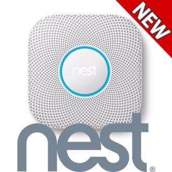 Harga Nest Protect Smoke & Carbon Monoxide Alarm, Battery (2nd gen)