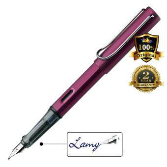 Harga Lamy AL-Star Fountain Pen Broad Nib Black Purple -29B