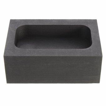 Harga 5OZ Purity Graphite Casting Refining Scrap Melting Ingot Mold for Gold Silver