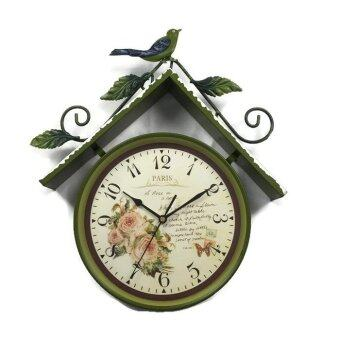 Harga W Clock G1313 English Clock - Green
