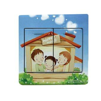 Harga Happy House Switch Sticker Set of 3 (Multicolor)