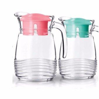 Harga Luminarc Glass Jar 1000ml - Turquoise Green (France)