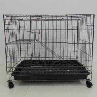 "Harga 306L 1 Level Cat Cage Wrought Iron 36""L x 24""W x 29""H"