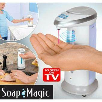 Harga SmartKids Soap Magic Automatic Kitchen Bathroom Hand Touchless Sensor Pump As Seen On TV