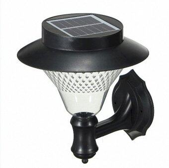 Harga Outdoor Solar Wall Light 32 LED (Cool White)