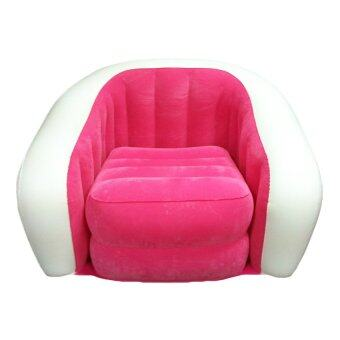 Harga INTEX Inflatable Air Sofa Chair (Pink)