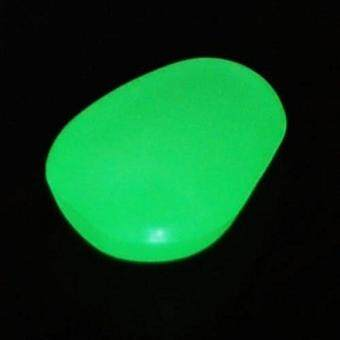 Harga 100 Man-made Green Glow in the Dark Pebbles Stone
