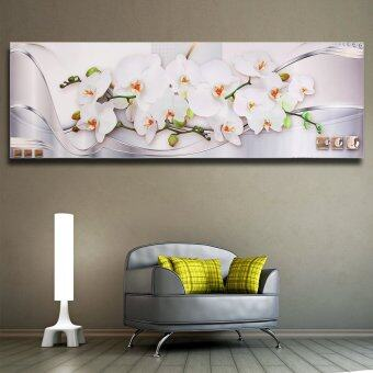Harga Mangnolia Modern Unframed Canvas Painting Decorative Wall Picture Home Decor