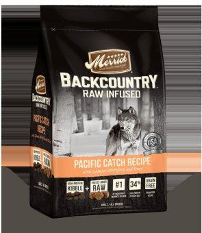 Harga Merck Backcountry Pacific Catch Recipe Raw-Infused Dry Dog Food 12LB