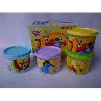Harga Tupperware Winnie The Pooh Canister Set