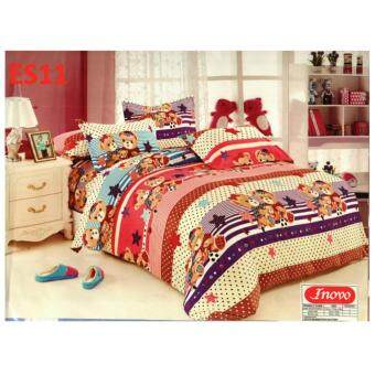 Harga Single size fitted bedsheet (ES)