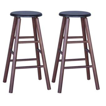 Harga HGF ST-R700CP-2 High Bar Stool Cappuccino Set of 2