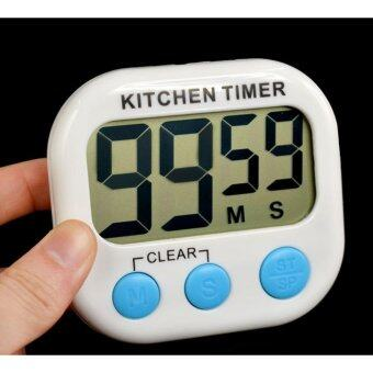 Harga Kitchen Digital Timer Electronic Big Digital Timer Lound Kitchen Timer with Large LCD Display Screen Magnet
