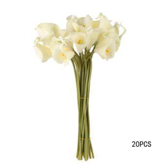 Harga Calla lily Artificial flowers decorative flower milk white