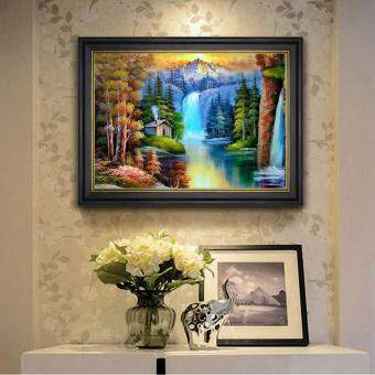 Harga 5D DIY Diamond Painting Embroider Cross Stitch Home Decor Craft Resin Wall Art