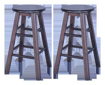Harga HGF Bar Stool Cappuccino (2pcs)