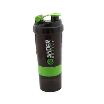 Harga Ai Home 500ml Protein Blender Shaker Shaking Cup Bottle Drinkware Barware Tool (Green)