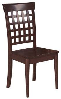 Harga J&Co YM102 Dining Chair (Wenge) 2 unit