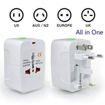 Harga Universal Travel Wall Charger AU UK US EU Plug Adapter