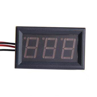 Harga Digital Electricity Meter 20A Red LED Panel Amp Meter
