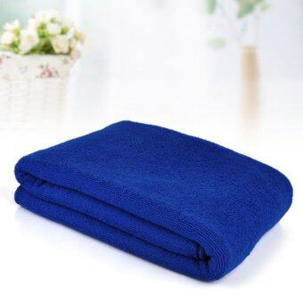 Harga New Superfine Microfiber Bath Towels Convenient Soft Body Bath Towel Portable Bath Travel Big Towels For Adults Shower Tools(Blue)