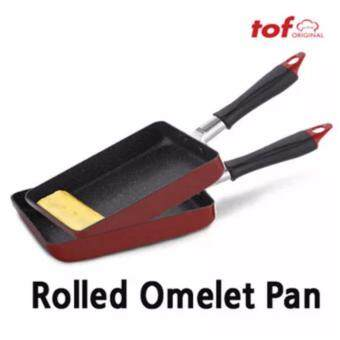 Harga TOF Rolled Omelet Pan /Mable Pan/ Egg pan/Egg Frying pan/ Omelet Nonstick / MADE IN KOREA