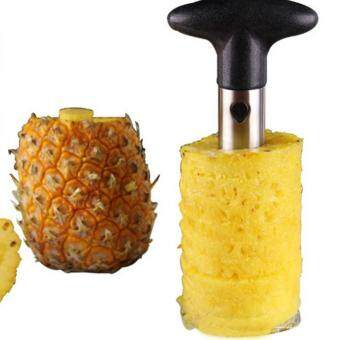 Harga Ajusen 1pc Hot Sale Stainless Steel Fruit Pineapple Corer Slicers Peeler Parer Cutter Kitchen Easy Tool