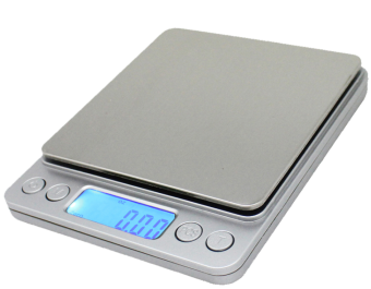 Harga Spirit- Mini Electronic Digital Pocket Jewelry Scale / Kitchen Scale 0.01oz/0.1g 3000g Portable Balance LCD (Silver)