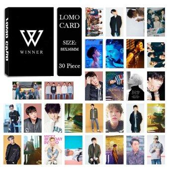 Harga WINNER Seung Hoon Song Min Ho Album Kpop LOMO Cards New Fashion Self Made Paper Photo Card HD Photocard LK415