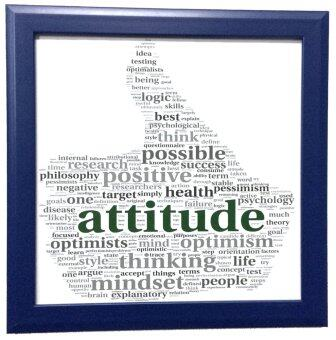 Harga Decor Poster - Colorfun Poster - Good Attitude
