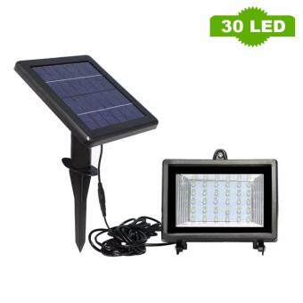 Harga Solar Flooded Led Lamp 30 LEDs solar powered Lamp White Outdoor Solar Led Flood lights Solar LED Spotlights Garden Lamp