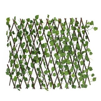 Harga Expandable Artificial Ivy Leaf Fence Decor Privacy Screen Patio Yard Garden