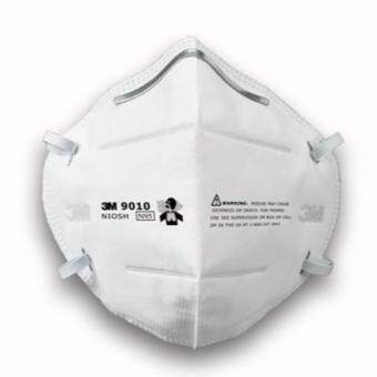 Harga 3M 3M9010 N95 Foldable Dust/Mist Particulate Respirator Half Mask (1pcs)