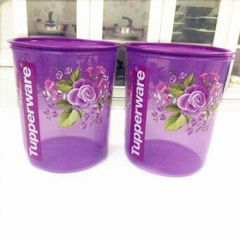 Harga Tupperware Royal Rose Maxi Canister 2x5.5L - (NUMIT)