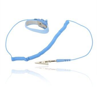 Harga Pro'sKit AS-311 Anti-static ESD Wrist Strap Discharge Wristband Safe Tool with 3M Cable & Alligator Clip